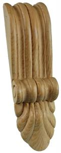 650 - Medium Reeded Corbel with fan